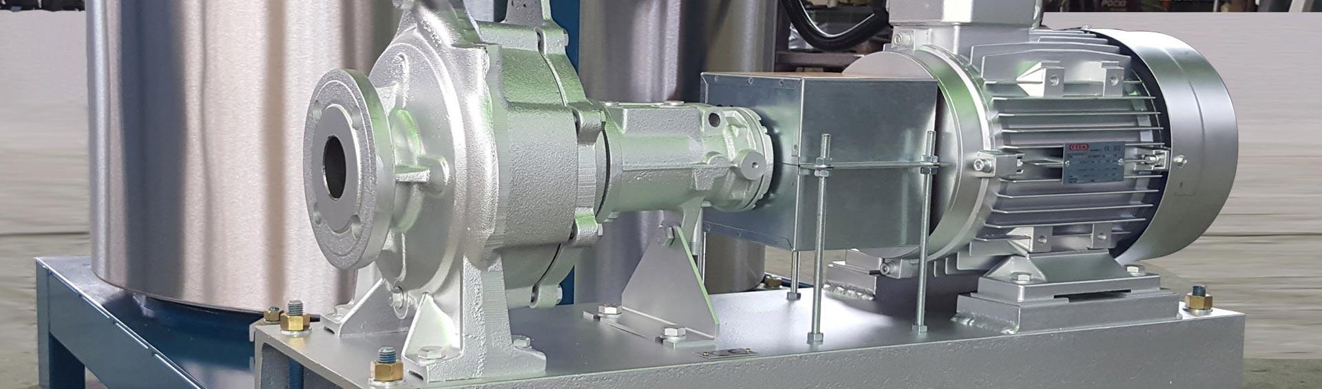 Particolare di un generatore di vapore