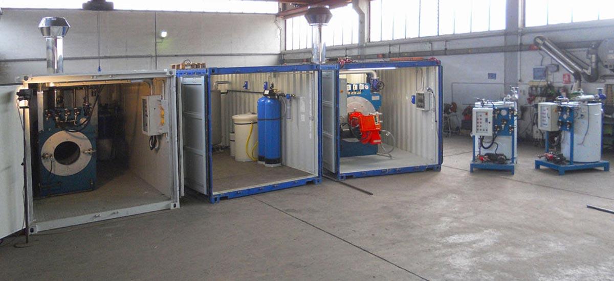 Centrali termiche di vapore