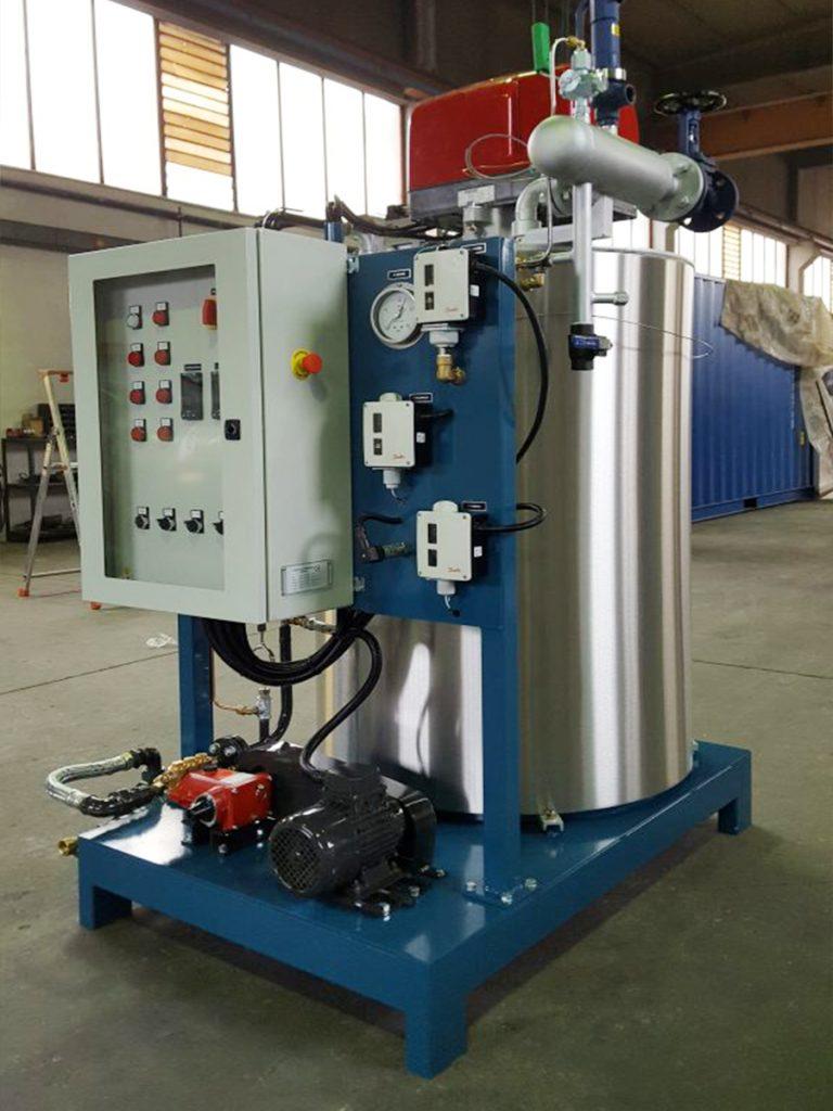 Generatore di vapore industriale ad asse verticale FB