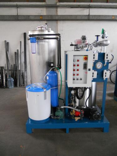 Generatore di vapore FB abbinato a SKID