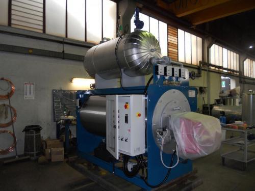 Generatore di vapore OMG abbinato ad accumulo vapore