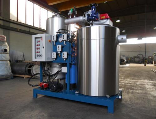 Generatore di vapore industriale FB