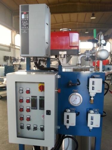 Pannello di controllo della caldaia a vapore